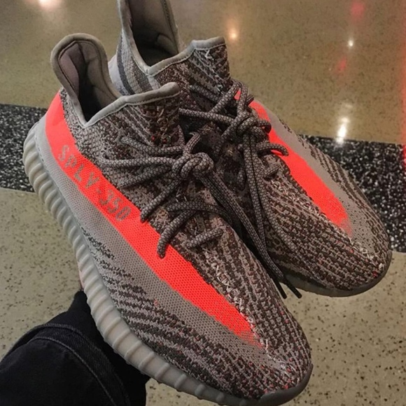 hot sale online 78bb3 b9da6 adidas Yeezy Boost 350 V2 Grey Orange